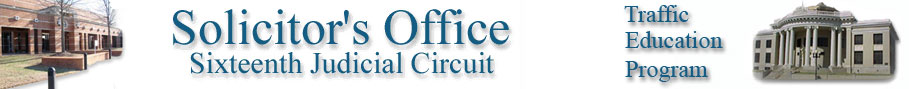 16th Circuit Solicitor's Office